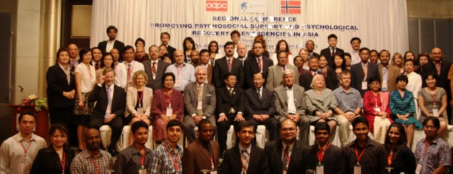 Regional Conference on Promoting Psychosocial Support and Psychological Recovery in Emergencies in Asia