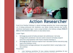 Job Vacancy – ACTION RESEARCHER