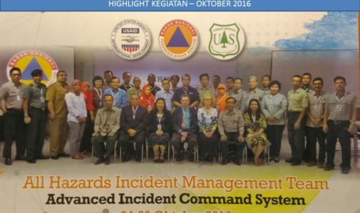 Capacity Building – All Hazard Incident Management Team and Advance ICS